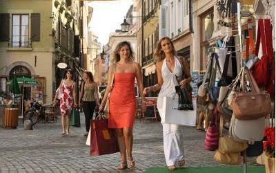Германия становится Меккой для шоппинг-туристов.